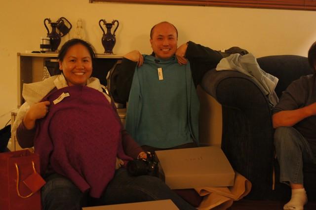 Jenny & Chi - new sweaters
