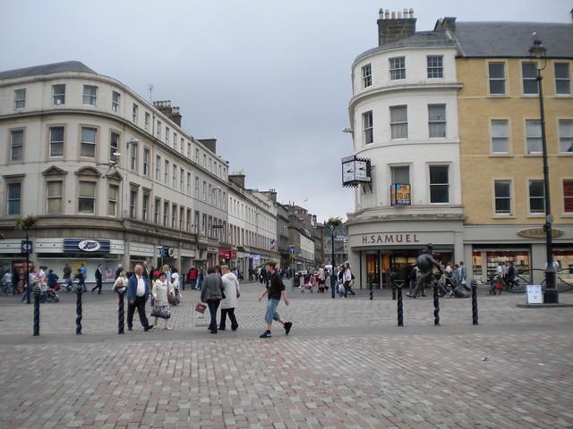 Calle principal de Dundee