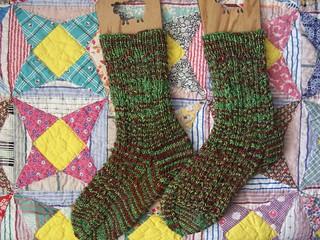 Jingle Bell Socks