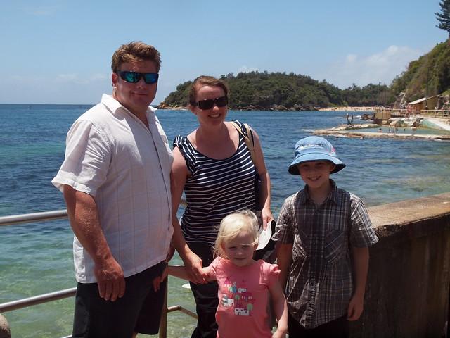 julie, joe and the kids