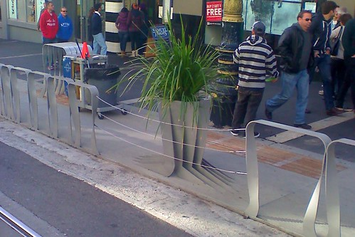 Powell Street Parklet Jaywalking Improvements 2
