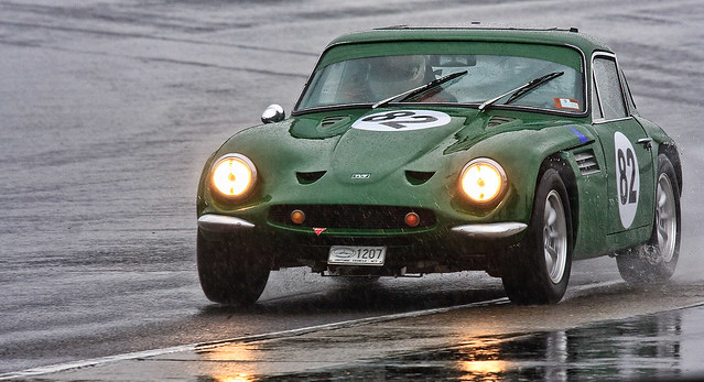 Laurie Burton 1969 TVR Tuscan