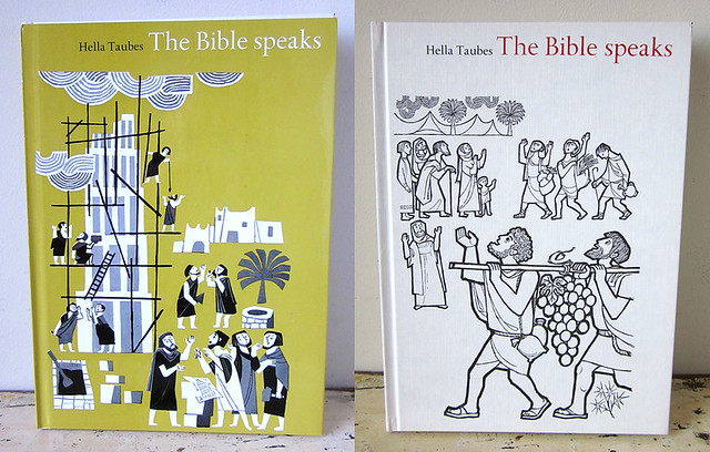 The Bible Speaks Vol. 1, by Hella Taubes, Illustrated by Dan Bar-Giora