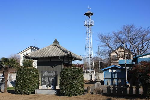 畔吉の火の見櫓(上尾市)