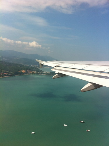 Leaving Koh Samui for Bangkok