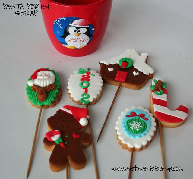 yılbaşı kurabiyeleri 2012
