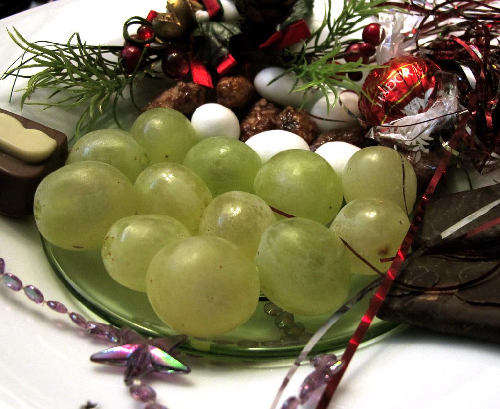 Mis uvas de la suerte !!! Feliz año nuevo 2012 !!!