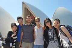 Ens vam trobar els taiwanesos del tour a l'Urulu... quin país més petit!
