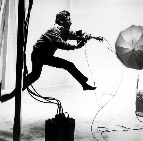 richard avedon by Jacques-Henri Lartigue 1966