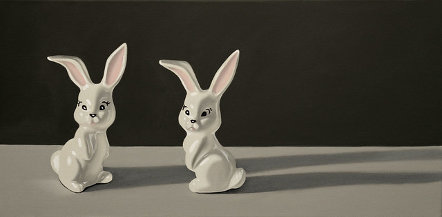 "Bunnies - 10x20"" - Cassie Marie Edwards"