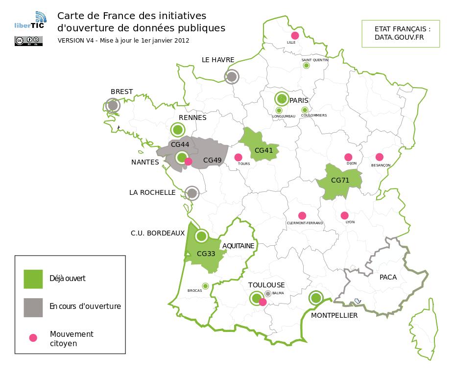 Carte France Open Data V4