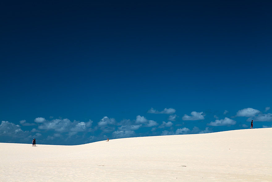 Sand Dune at Myall Lakes National Park, NSW, Australia