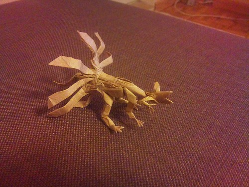 The Origami Forum • View topic - Nine Tailed Foxes?