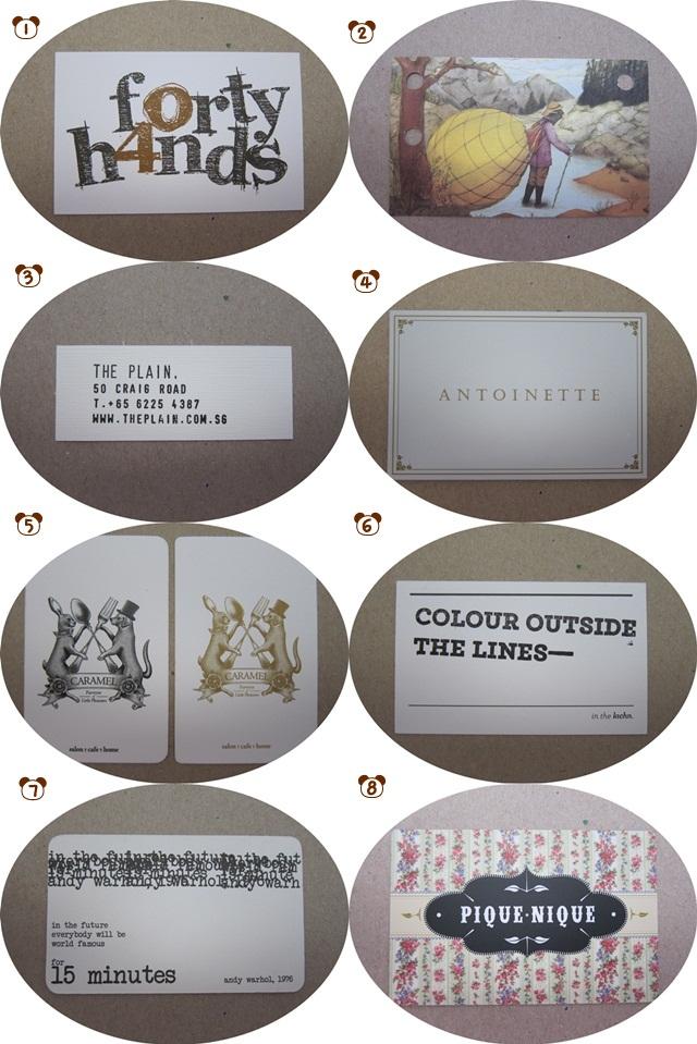 Cafe Storecards