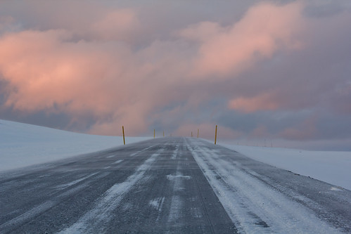 light sunset orange white snow ice clouds sunrise 35mm canon landscape eos iceland f14 60d rokinon
