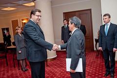 Presentación de Cartas Credenciales en Moldova