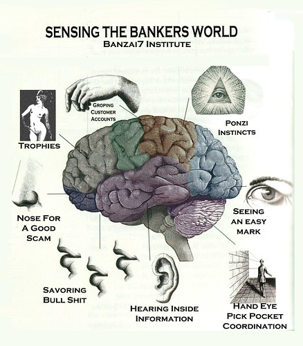 SENSING THE BANKER'S WORLD by Colonel Flick