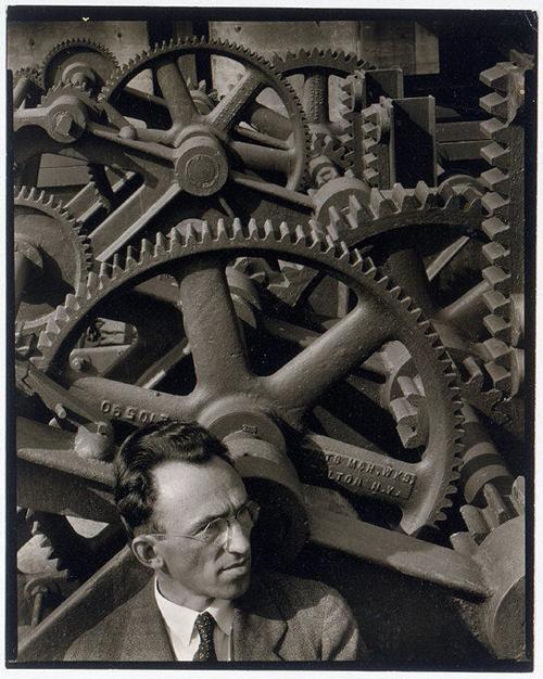 Louis Lozowick 1930 by Ralph Steiner