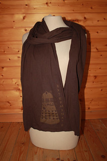 Dalek scarf