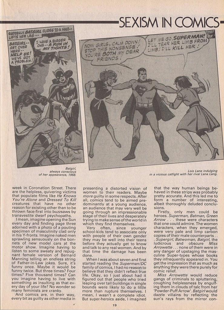 Sexism in Comics 2