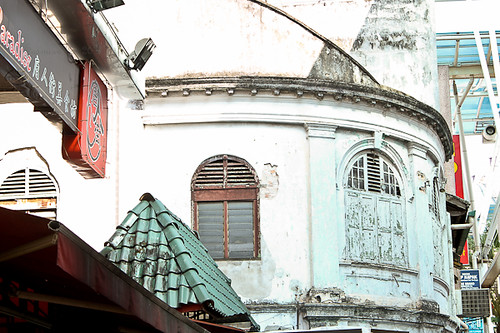 Old Building at Malaysia's Chinatown (Petaling Street)
