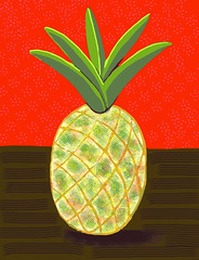 Pineapple Revised - Cropped by randubnick