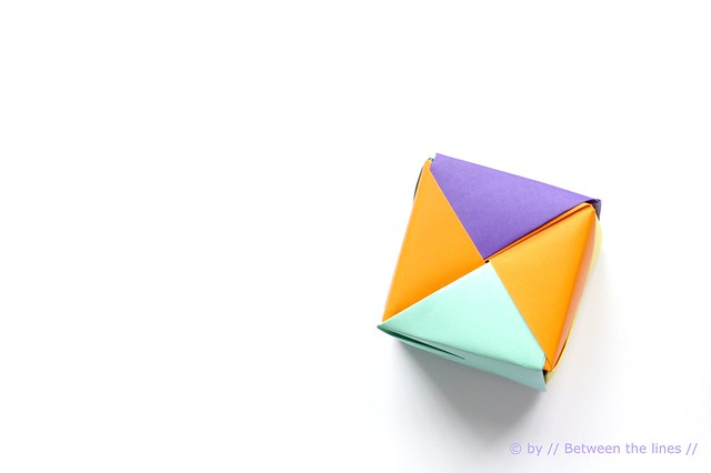 moving origami: origami cubes | 426x640