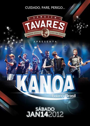 Flyer Tavares - Kanoa by chambe.com.br