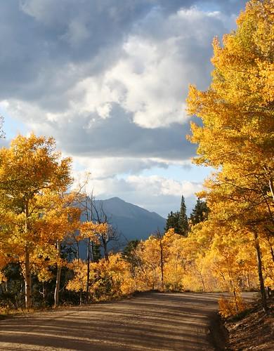 sunset mountains canon colorado fallcolors breckenridge boreaspass countryroads