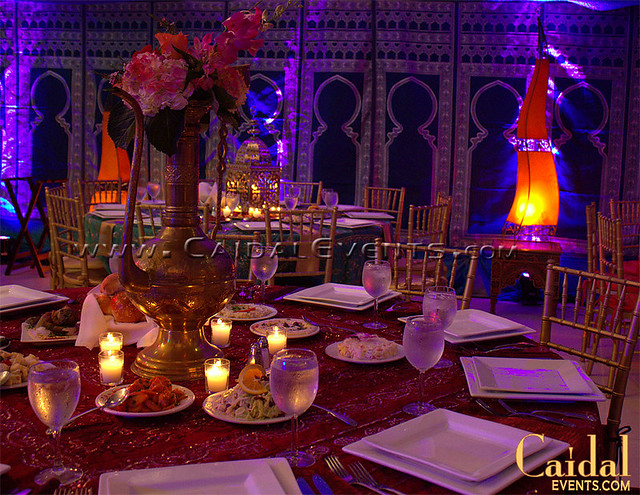 Moroccan jewish henna wedding at temple sinai 10 flickr for Arabian decoration party