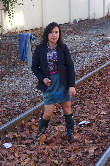 OOTD: Of Thrifting and Hanging Pants