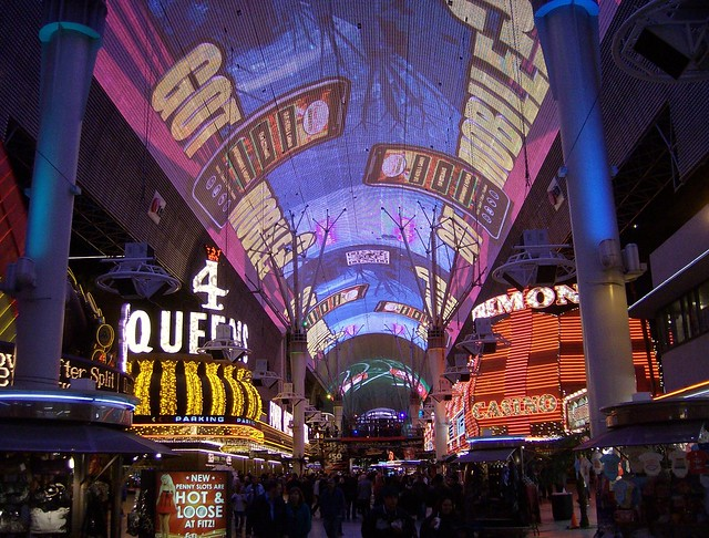 Vegas to do list - Fremont Street