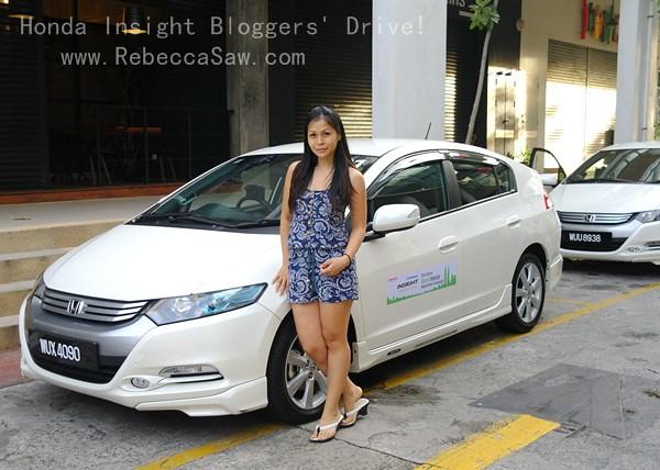 honda insight blogger test drive