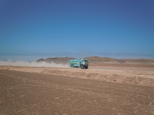 Rally Dakar 2012 categoría caminones