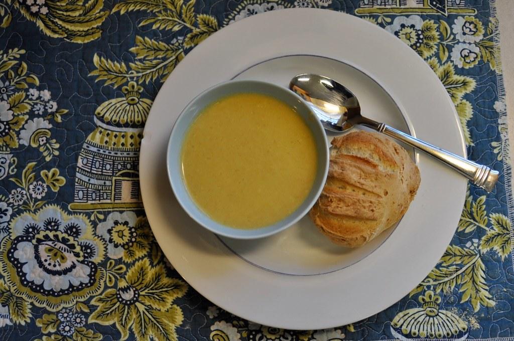 potage a la libournaise + artisan bread in 5 minutes a day