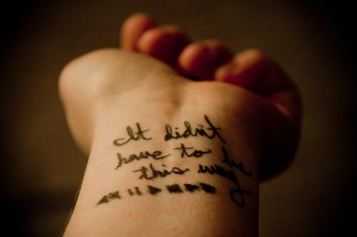 365: 2012/01/13 - past tensed
