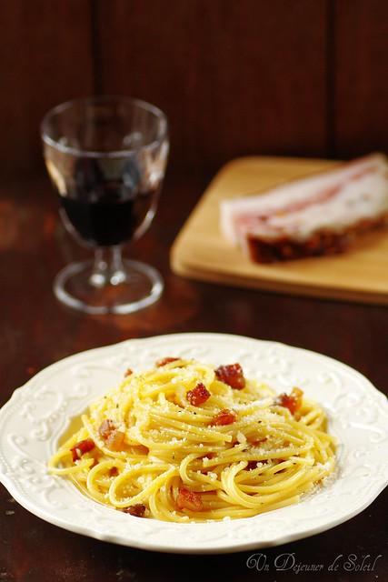 Spaghetti carbonara recette astuces histoire