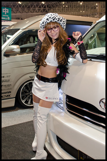 Tokyo Auto Salon 2012 Models-082