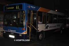 32424  N424 MBW Denniss Dart Plaxton Pointer. Stagecoach East Midlands Motor Services  Hardy st Depot WORKSOP