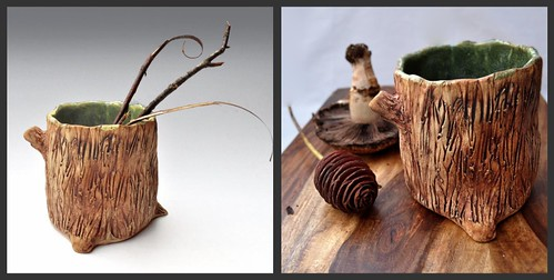 restyled photo Tree Roots planter by wolfewomn