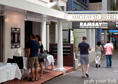 macleay st bistro potts point
