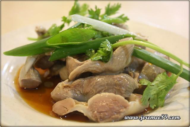 Curry Mee @ Hot Bowl Nyonya Delight, Abu Siti Lane - Chicken Parts