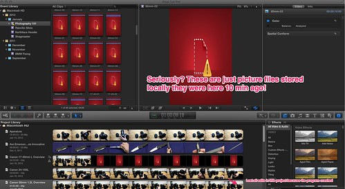 Final Cut Pro X - Is Driving Me Crazy Tonight by Creative Outlet Images Photography