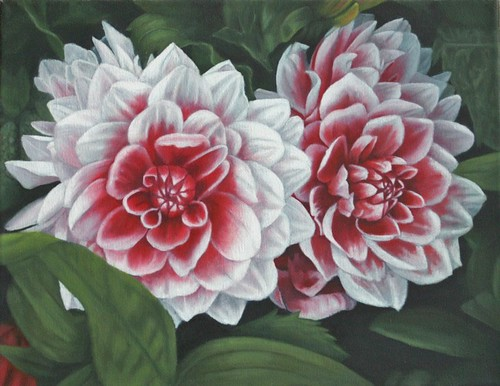 Dahlia by Sid's art