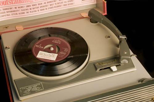 His Master's Voice (HMV) Monaco Portable Record Player