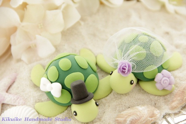 sea turtle wedding cake topper turtles wedding cake topper flickr photo 19729