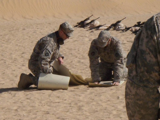 Infantry Soldiers receive additional training in Kuwait