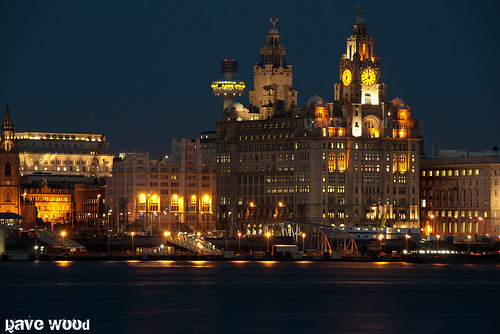 When Liverpool was Lit Up at Night