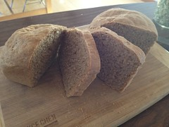 Today's Bread : Dark Honey Rye by mikeysklar