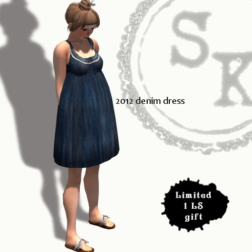 (Slow Kitchen)2012_Denim_dress